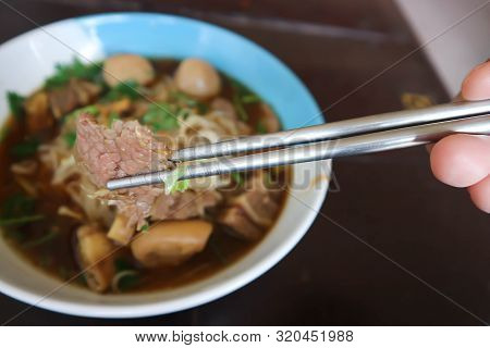 poster of Eating Noodle, Chinese Noodle Or Beef Noodle