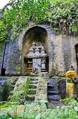 Jungle holy cave temple in  Bali, Indonesia