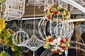 Classic decorative bird cage