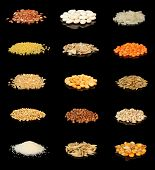 ?ollection Of Cereals And Grains