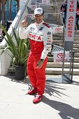 LOS ANGELES - APR 14:  Eddie Cibrian at the 2012 Toyota Pro/Celeb Race at Long Beach Grand Prix on A