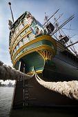 Aft VOC Ship stern tall