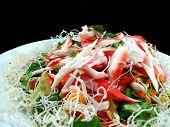 Seafood Salad with Crispy Noodles