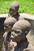 stock photo of slave-house  - Monument to slaves in Zanzibar - JPG