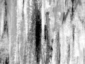 Watercolor Textures in  Black & White 1