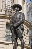 Gurkha Soldaten Denkmal, Whitehall, london
