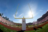 PASADENA, CA. - JAN 2: A general view of the Rose Bowl before the NCAA 98th Rose Bowl Game presented