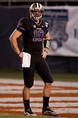 SAN DIEGO - DEC 30: Washington Huskies QB Jake Locker #10 before the 2010 Bridgepoint Education Holi