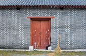 Wall With Broom