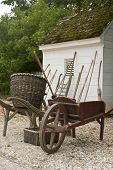 Garden Tools By Shed