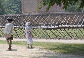 Children Dressed In Colonial Attire