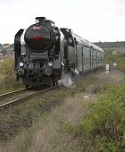 steam train (464.102), Prague - Luzna u Rakovnika, Czech Republic
