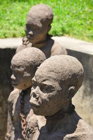 image of slave-house  - Monument to slaves in Zanzibar - JPG
