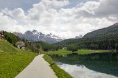 stock photo of engadine  - Lake St - JPG