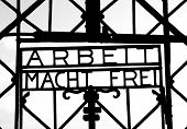 Arbeit Mach Frei, Dachau Concentration Camp