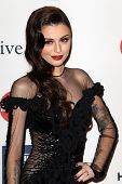 LOS ANGELES - FEB 9:  Cher Lloyd arrives at the Clive Davis 2013 Pre-GRAMMY Gala at the Beverly Hilt