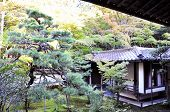 Japanese Garden In The Temple, Koto-in A Sub-temple Of Daitoku-ji