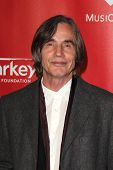 LOS ANGELES - FEB 8:  Jackson Browne arrives at the 2013 MusiCares Person Of The Year Gala Honoring