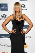 LOS ANGELES - FEB 9:  Tyra Banks arrives at the Clive Davis 2013 Pre-GRAMMY Gala at the Beverly Hilt