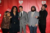 LOS ANGELES - FEB 8:  Mavis Staples and Alabama Shakes arrive at the 2013 MusiCares Person Of The Ye