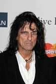 LOS ANGELES - FEB 9:  Alice Cooper arrives at the Clive Davis 2013 Pre-GRAMMY Gala at the Beverly Hi