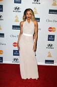 LOS ANGELES - FEB 9:  Ciara arrives at the Clive Davis 2013 Pre-GRAMMY Gala at the Beverly Hilton Ho