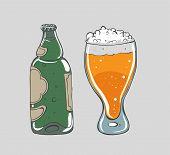 Beer - vector illustration