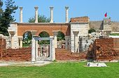 Ruins Of St. Johns Basilica And The Roman Fortress At Ayasuluk Hill - Selcuk, Ephesus, Turkey