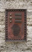 Historic Doorbell Plate