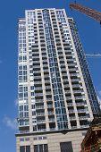 Residential Condominium High Rise Under Construction