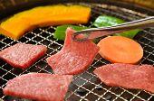 Roast meat called Yakiniku