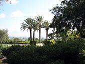 Edmond De Rothschild Park.  Ramat Hanadiv. Israel