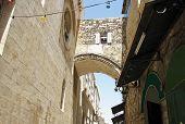 Arch Ecce Homo. Jerusalem. Israel