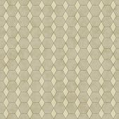Ecru Honey Comb Shape Fabric Background