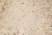 Dry Hardened Rocky Dirt