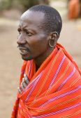 Porträt von masai