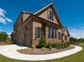 Model Luxury Home Exterior Extreme View