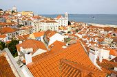 Alfama, Old Part Of Lisbon