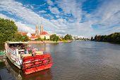 Wroclaw, Poland cityscape