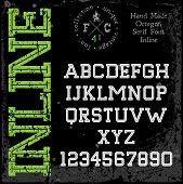 Handmade Retro Font