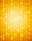 Golden Brightnes Illustration Suitable For Christmas Or Disco Backround, Vector