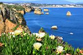 pic of lagos  - Ponta de Piedade in Lagos, Algarve coast in Portugal