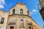 Church of SS. Cosma e Damiano. Mesagne. Puglia. Italy.