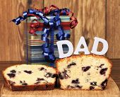 Lemon Blueberry Poundcake And A Gift For Dad