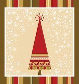 Chrismas Card Series - Red