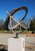 picture of sundial  - The Armillary Sphere  - JPG