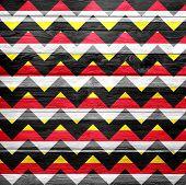 Seamless chevron pattern grunge texture background