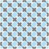 Sweet blue, white and dark grey vector plaid background