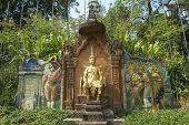 French Siamese Treaty Monument In Phnom Penh Cambodia