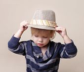 Chid In Fedora Hat: Fashion